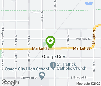 Furniture Loft In Osage City Map