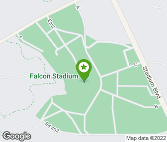 Falcon Stadium US Air Force Academy CO Groupon - Air force academy map