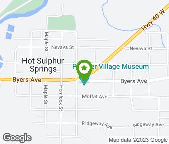 Hot Sulphur Springs Colorado Map.Grand County Museum Hot Sulphur Springs Co Groupon