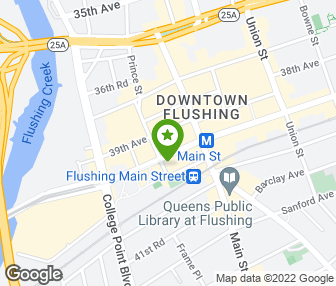 Sifu Chio - Flushing, NY   Groupon Chio Map on