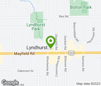 Lyndhurst Ohio Map.Fox S Sports Bar Grille Lyndhurst Oh Groupon