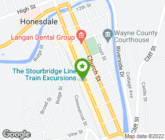 Wayne county arts alliance honesdale pa groupon map sciox Choice Image