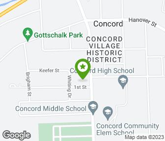 Concord Michigan Map.Boyer Joan School Of Dance Gymnastics Concord Mi Groupon