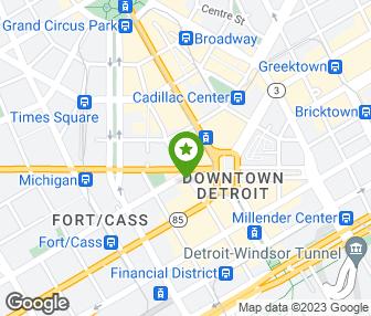 Detroit Michigan Map Google.Anytime Fitness Detroit Mi Groupon