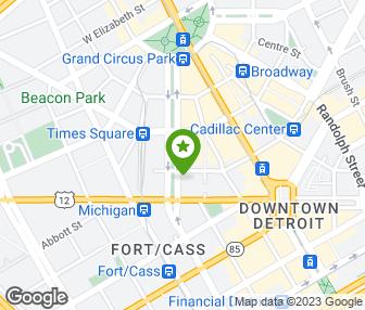 Detroit Michigan Map Google.Roast Detroit Mi Groupon