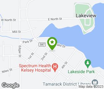 Lakeview Michigan Map.The Healing Center Lakeview Mi Groupon