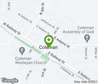 Coleman Michigan Map.Cork S Barber Shop Coleman Mi Groupon