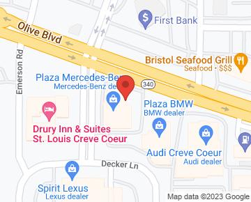 Maggie elliott google for Plaza mercedes benz 11910 olive blvd creve coeur mo 63141