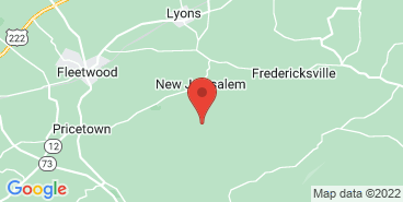 The Eckerton Hill Farm farm on the map.