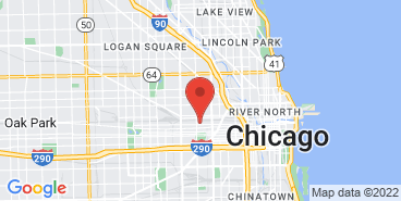 The Goose Island Beer Co. farm on the map.