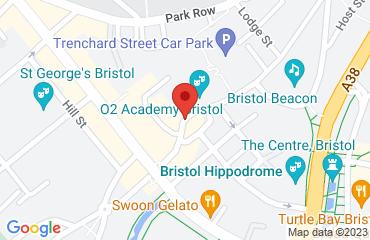 O2 Academy Bristol, 1 Frogmore Street, Bristol BS1 5NA, United Kingdom