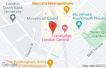 Ministry Of Sound, 103 Gaunt Street, London SE1 6DP, United Kingdom