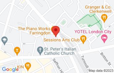 The Piano Works Farringdon, 113-117 Farringdon Rd, London EC1R 3BX, United Kingdom