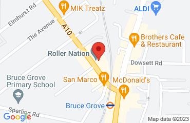 Roller Nation, 117 Bruce Grove, London N17 6UR, United Kingdom