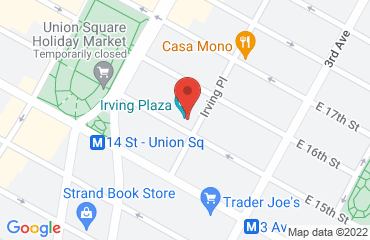 Irving Plaza, 17 Irving Place, New York 10003, United States