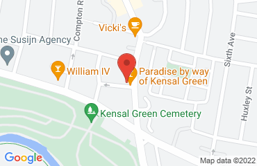 Paradise by Way of Kensal Green, 19 Kilburn Lane, Kensal Green, London W10 4AE, United Kingdom