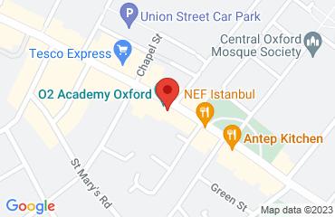 O2 Academy Oxford, 190 Cowley Road, Oxford OX4 1UE, United Kingdom