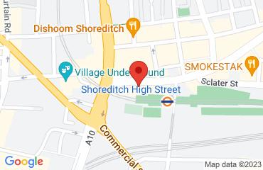 Box Park, 2-10 Bethnal Green Rd,, London E1 6GY, United Kingdom