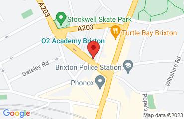 OUTSIDE O2 ACADEMY BRIXTON, 211 Stockwell Rd, Brixton, London SW9 9SL, United Kingdom