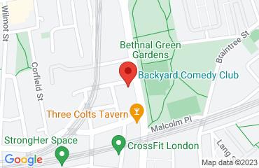 Back Yard Comedy club, 231 Cambridge Heath Road, Bethnal Green, London E2 0EL, United Kingdom