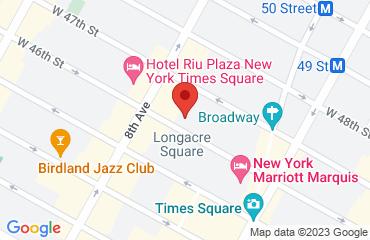 Sony Hall, 235 West 46th Street, Manhattan, NY 10036, United States