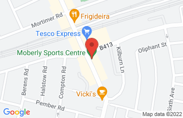moberly sports centre, 25 Chamberlayne Road, london nw10 3nb, United Kingdom