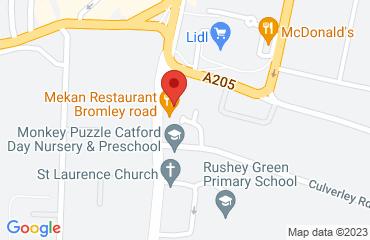 Riva Lounge, 3-7 Bromley Road , Catford, London SE6 2TS, United Kingdom