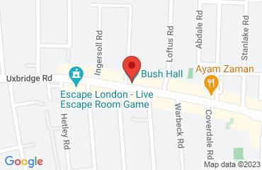 Bush Hall, 310 Uxbridge Rd,, White City, London W12 7LJ, United Kingdom