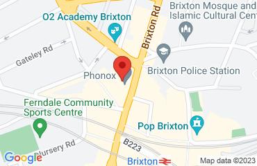 Phonox, 418 Brixton Road, London SW9 7AY, United Kingdom