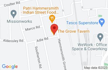 The Grove Bar & Resturant, 83 Hammersmith Grove, London W6 0NQ, United Kingdom