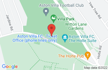Aston Villa FC, Aston, Birmingham B6 6HE, United Kingdom