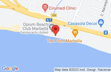 Opium Beach Club Marbella, Carretera N340, Km 184, Marbella 29603, Spain