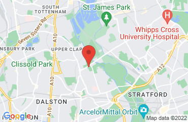 Secret warehouse venue, Hackney, London E5, United Kingdom
