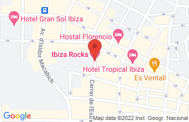 Ibiza Rocks Hotel, Ibiza Rocks Hotel,, Carrer de Cervantes, Sant Antoni 27, 07820, Spain