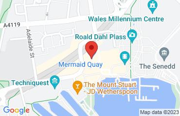 The Glee, Mermaid Quay,, Cardiff Bay, Cardiff CF10 5BZ, United Kingdom