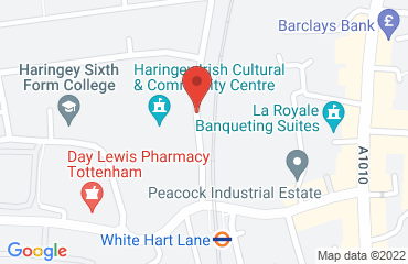 Haringey Irish Centre, Pretoria Road, Tottenham, London N17 8DX, United Kingdom