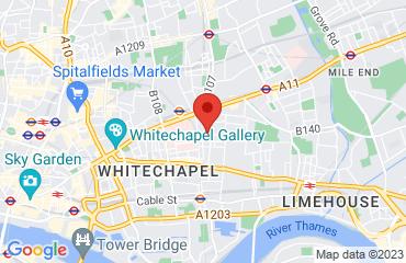 XX, Road, London E1 3PA, United Kingdom