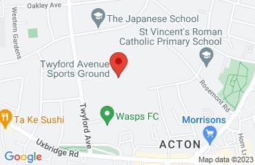WASPS FC, Twyford Avenue Sports Ground, Twyford Ave, Acton, London W3 9QA, LONDON W3 9QA, United Kingdom