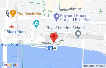 Blackfriars Pier, White Lion Hill, London, London EC4V 3QR, United Kingdom