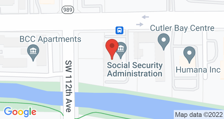 Miami, FL Social Security Office Map