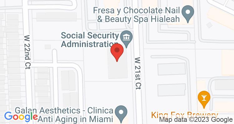 Hialeah, FL Social Security Office Map