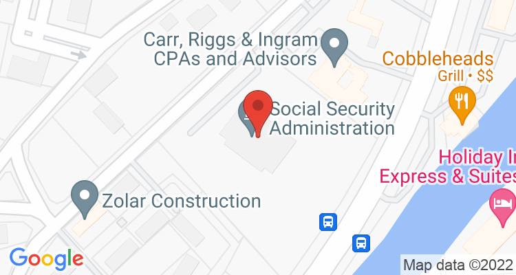 Brownsville, TX Social Security Office Map