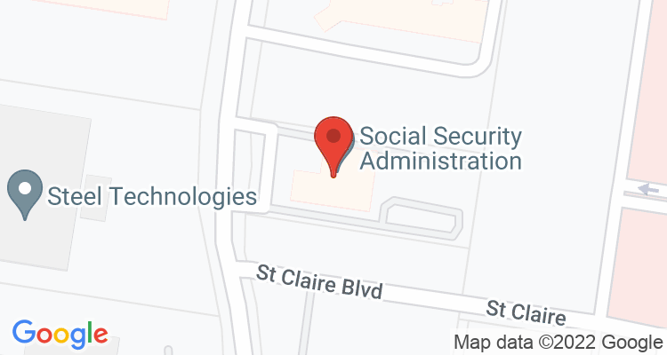 Mission, TX Social Security Office Map