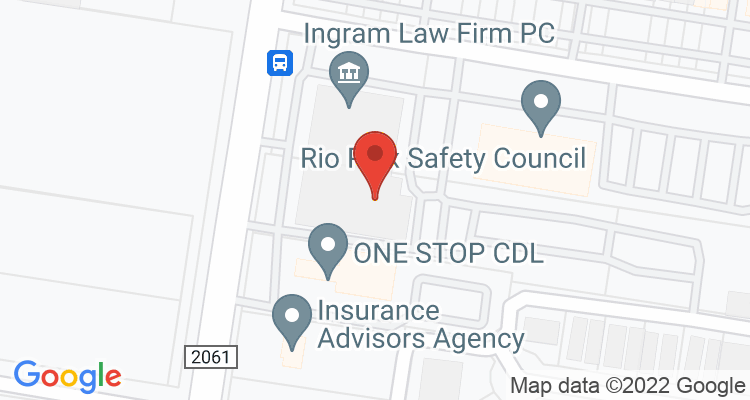 Mcallen, TX Social Security Office Map