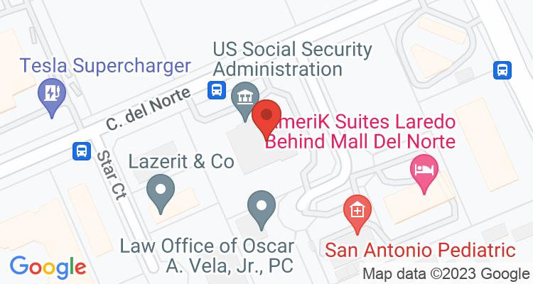 Laredo, TX Social Security Office Map