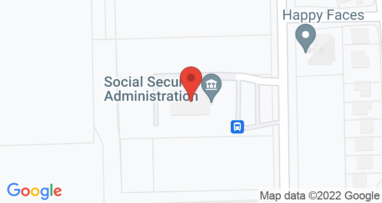 Angleton, TX Social Security Office Map