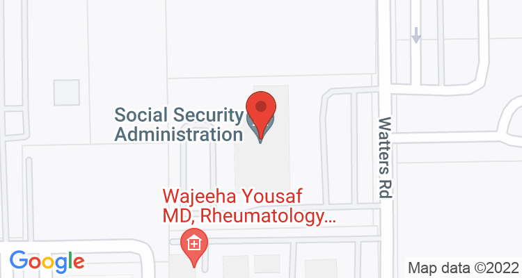Pasadena, TX Social Security Office Map