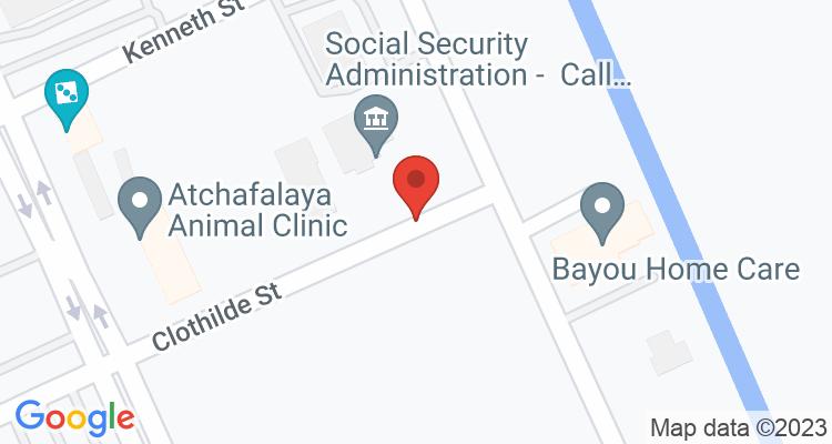 Morgan City, LA Social Security Office Map