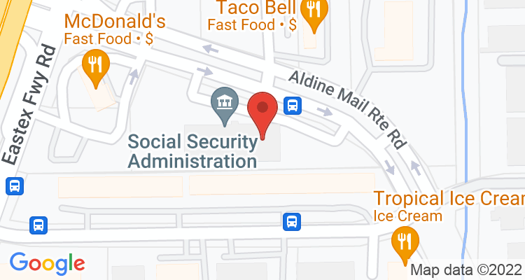Houston, TX Social Security Office Map