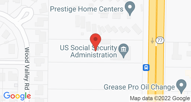 Panama City, FL Social Security Office Map